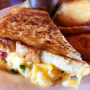 Crater Lake Lodge's Grilled Pimento Cheese