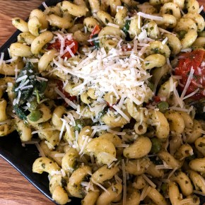 Pesto Pasta with a Twist (recipe included)