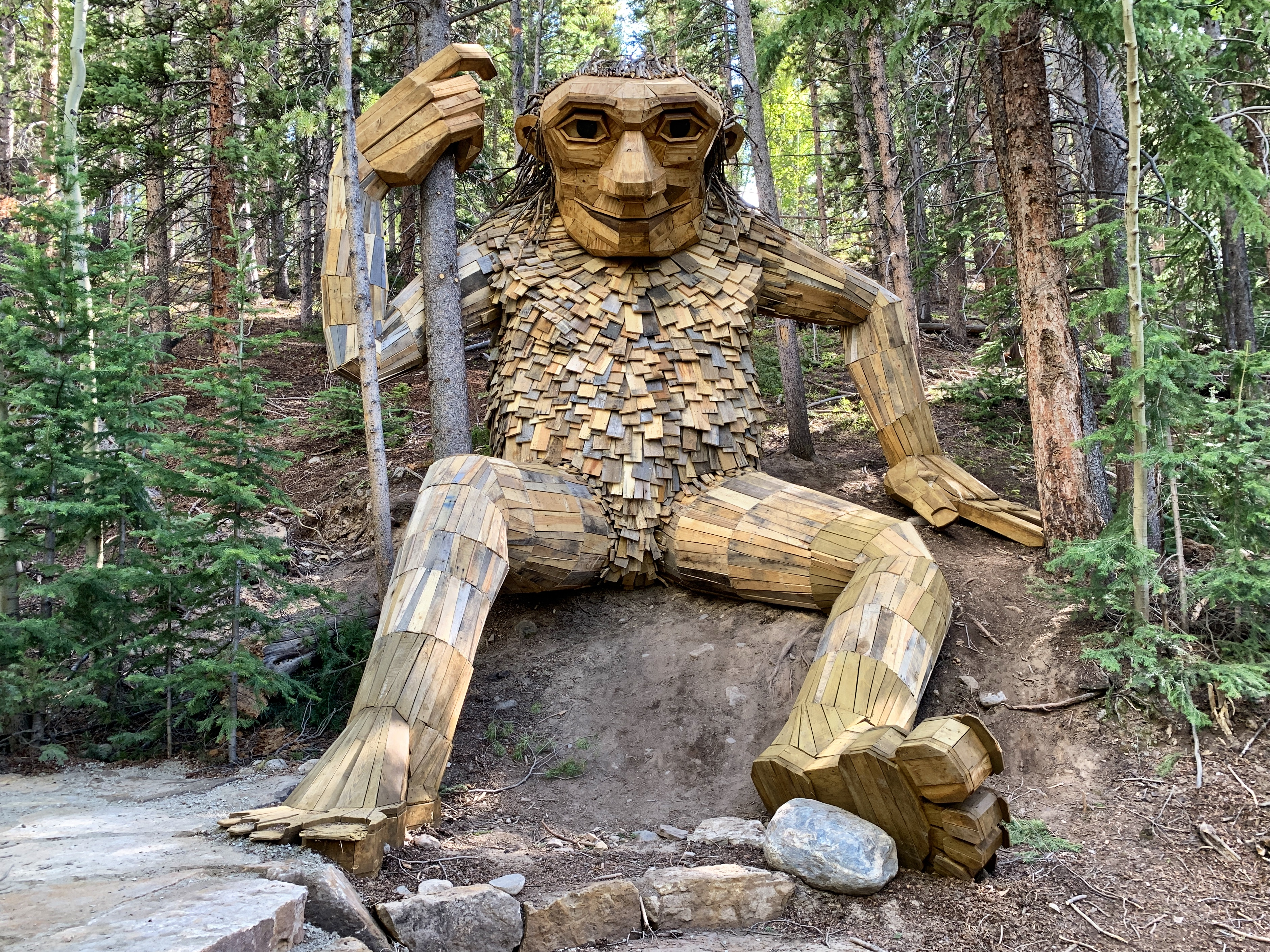 Breckenridge Troll has a New Home - Swept Away Today