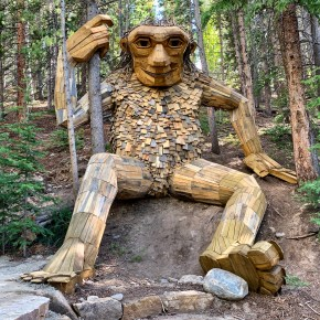 Breckenridge Troll has a New Home