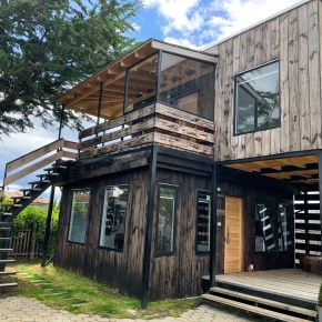 The Perfect Bungalow in Patagonia:  Toore Patagonia in Puerto Natales