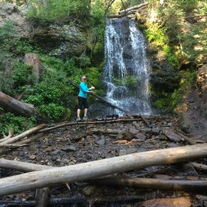 Waterfall Hike at Snow Mountain Ranch in Colorado