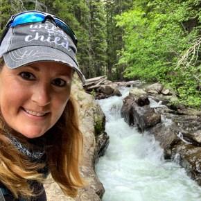 Waterfall Hike at Piney River Ranch Near Vail, Colorado