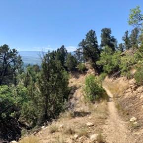 Road Trip Hiking Break in the Meeker Trail System