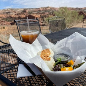 Best Coffee and Pizza in Utah are in Grand Staircase Escalante