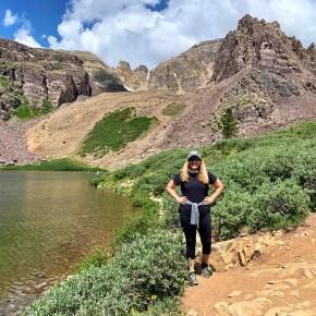 Cathedral Lake Hike Near Aspen, Colorado