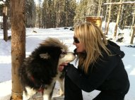jen-with-dogsled-dog