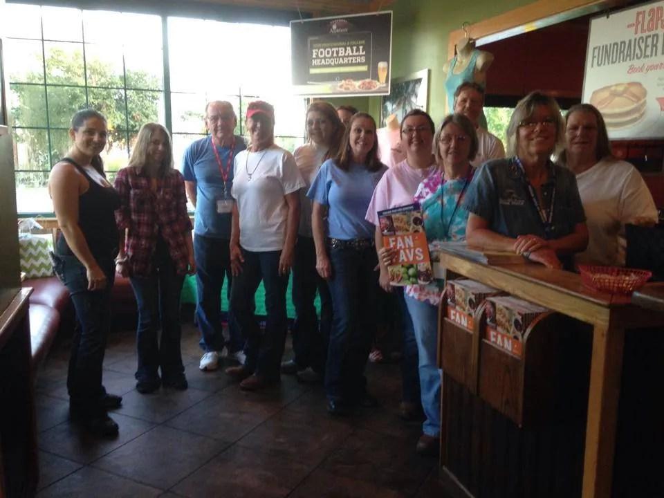 Volunteers (Pancake Breakfast)