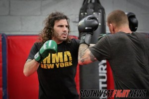 Clay Guida Prepares for Hatsu Hioki