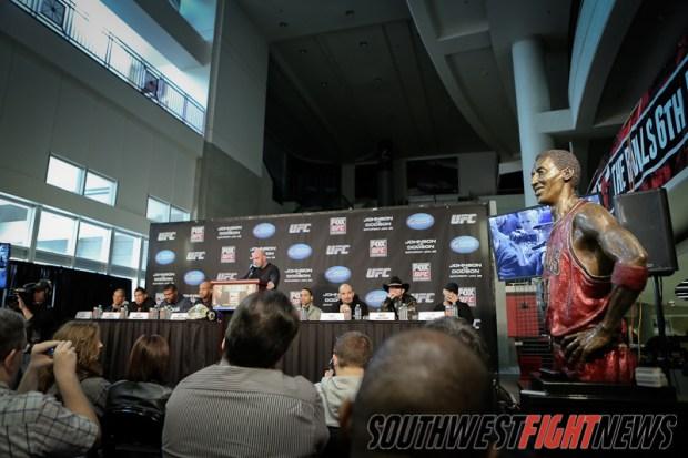 UFC on Fox 6 Presser