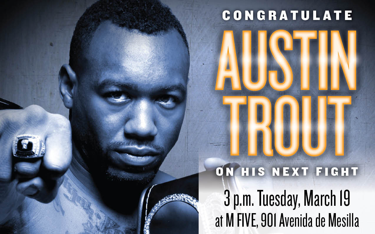 Austin Trout To Hold Press Conference In Las Cruces Announce Canelo Alvarez Bout