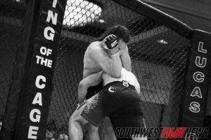 """It was striking versus grappling when Dorian Dixon met Aaron Perls. The first round was full of action and it was our pick for """"Fight of the Night"""""""