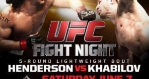 UFC Albuquerque June 7th