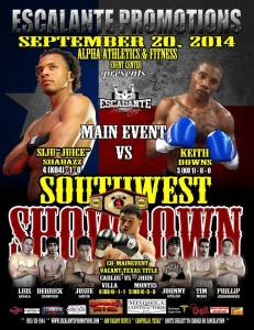 Southwest Showdown Fight Poster