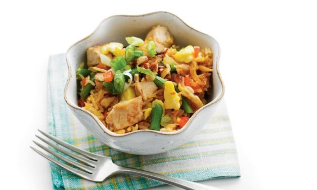 Easy Chicken Fried Rice | Recipe
