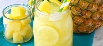Grilled Pineapple Lemonade | Food