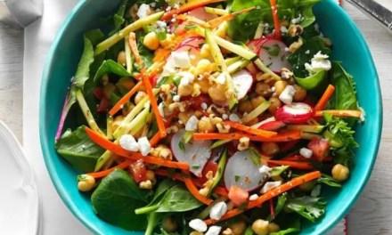 Garden Chickpea Salad | Eating Light