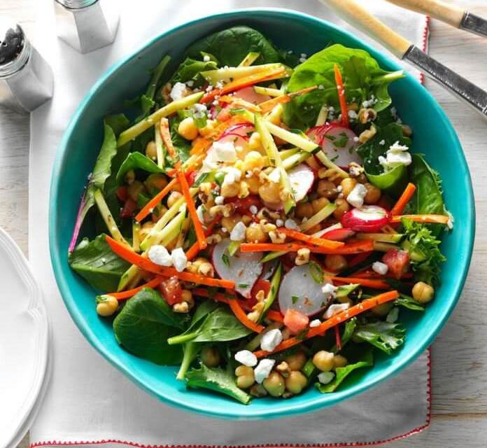 Garden Chickpea Salad   Eating Light