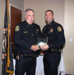 Major Dan Brophy (Lee County PA PD) and (Vice President) Chief Kevin