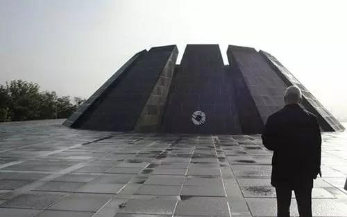 Armenian Genocide Memorial Monument in Yerevan