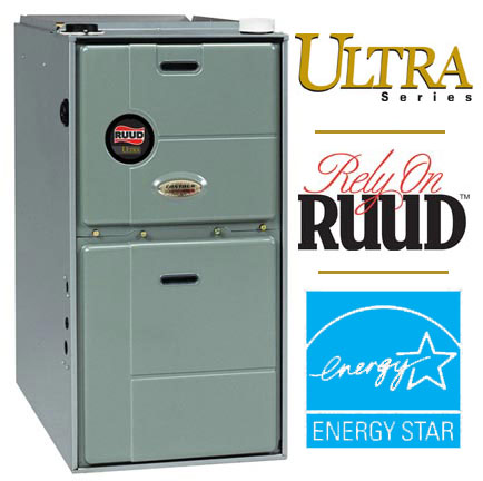 Ruud RGFG Ultra Series 90 Plus Gas Furnace