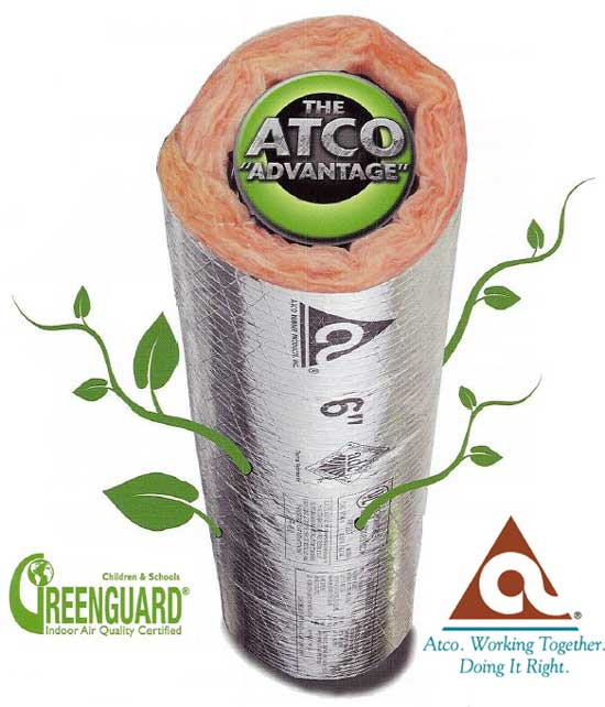 Atco GreenGuard Stardard. No Extra Charge.