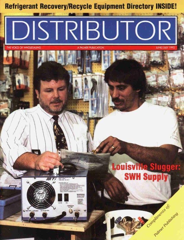 Distributor Magazine Cover June July 1992