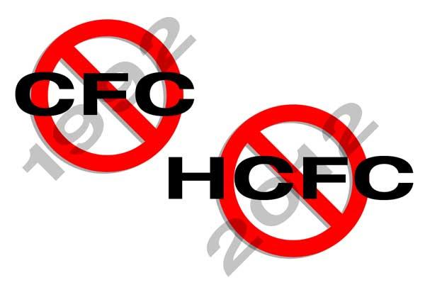 NO CFC NO HCFC