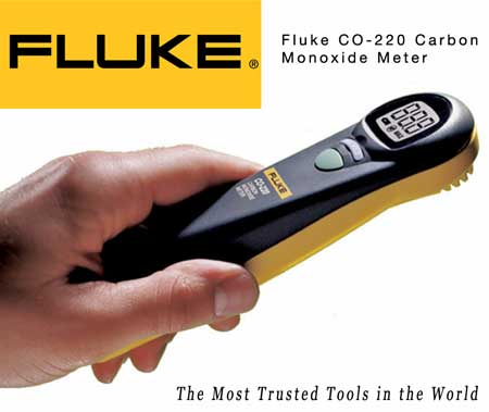 Fluke CO-220 Carbon Monoxide Mete
