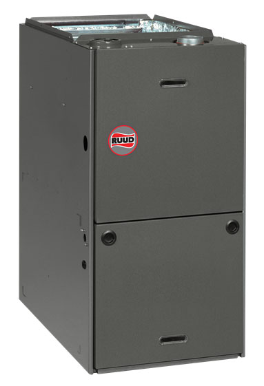 Ruud RGLS Series Downflow Gas Furnace