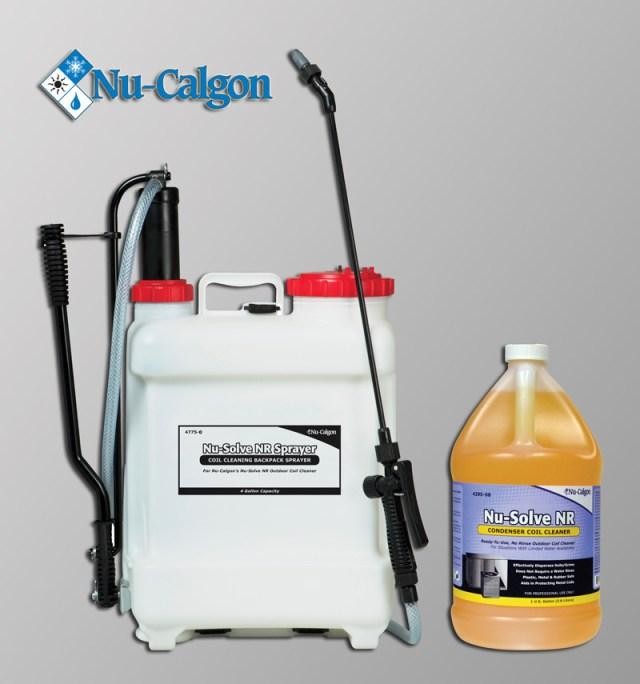 Nu-Calgon Nu-Solve NR Sprayer & Nu-Solve NR