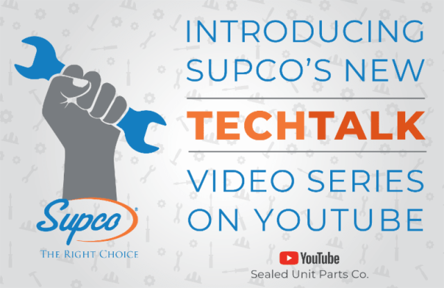Supco's TECHTALK Video Series on YouTube