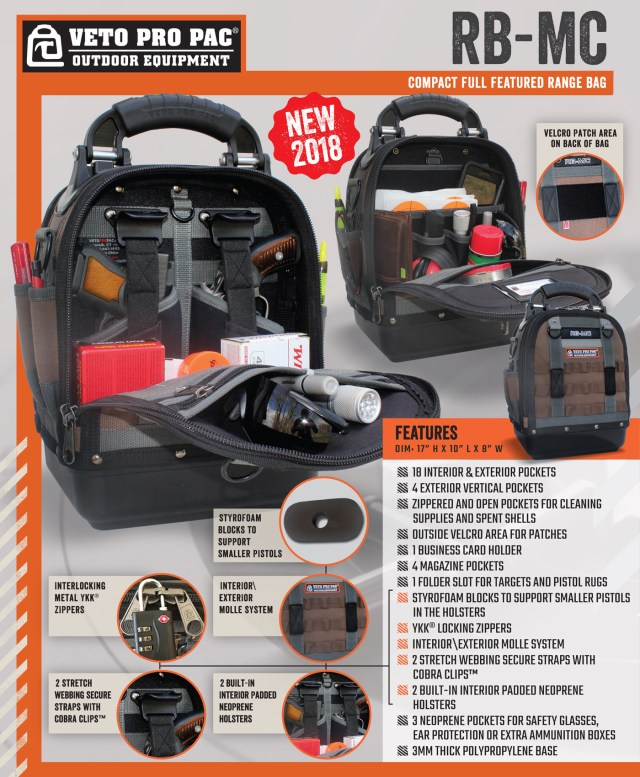 Veto Pro Pac RB-MC Range Bag