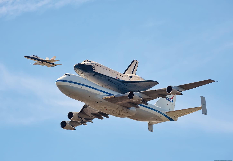 Fototapety Fototapeta Papierowa 4p 1 Space Shuttle