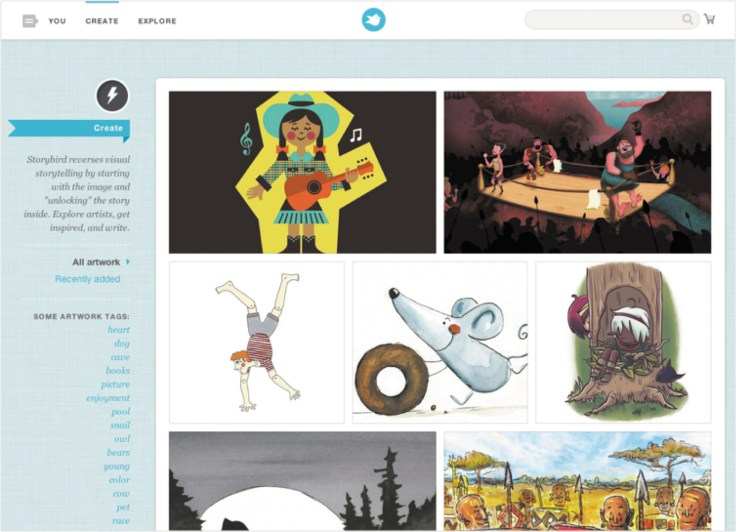 Najlepsze programy komputerowe dla dzieci, Storybird, programy edukacyjne