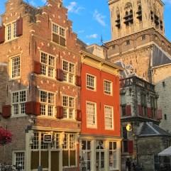 Delft - starówka, rynek