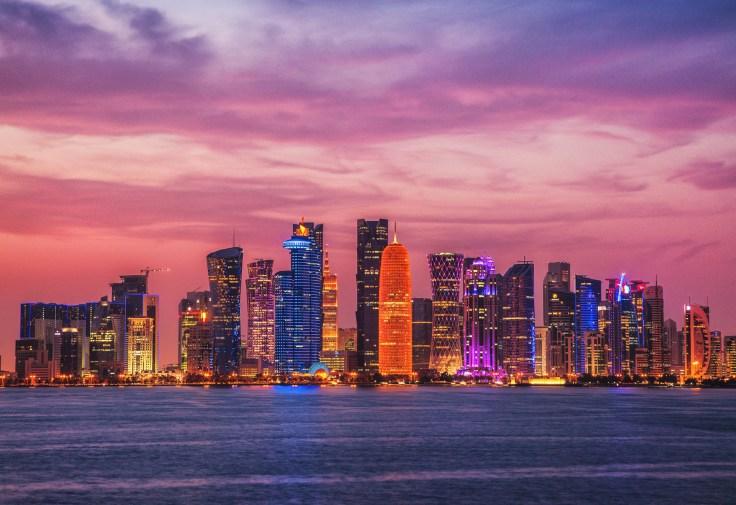 Doha_z_dzieckiem, Doha, stopover, przesiadka, Katar, tranzyt, West_Bay