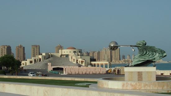 Doha z dzieckiem, Doha, stopover, przesiadka, Katar, plaża, Katara