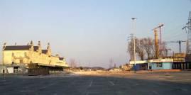 Tu był dworzec - stan z marca 2012 (fot. Nacho)