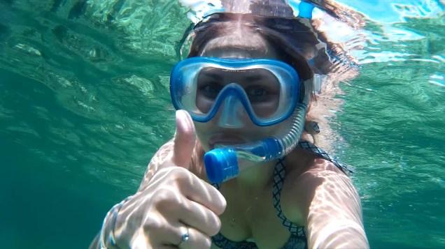 snorkelling1 - Kolumbia - Cartagena de Indias, Isla Mucura