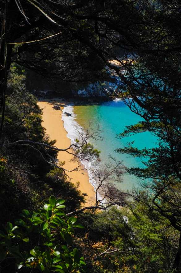 Abel Tasman NZ - 3 tygodnie w Nowej Zelandii - plan trasy
