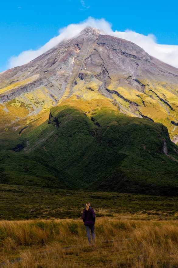 Egmont NZ - 3 tygodnie w Nowej Zelandii - plan trasy