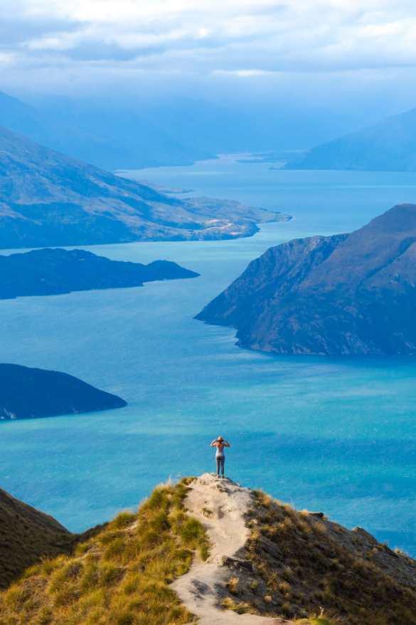 Roys Peak - 3 tygodnie w Nowej Zelandii - plan trasy