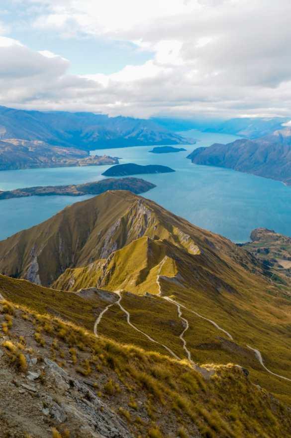Roys Peak NZ - 3 tygodnie w Nowej Zelandii - plan trasy