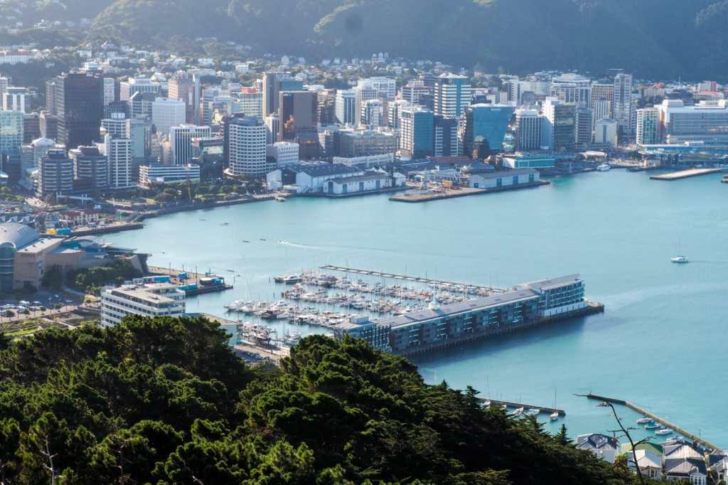 Wellington - 3 tygodnie w Nowej Zelandii - plan trasy