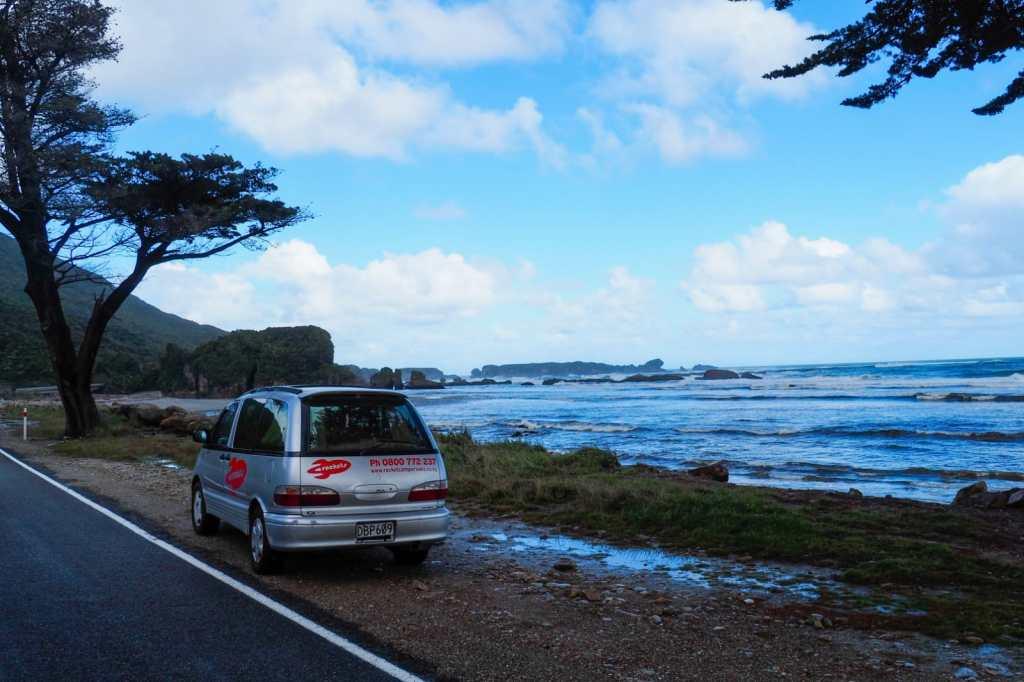 West Coast NZ - 3 tygodnie w Nowej Zelandii - plan trasy