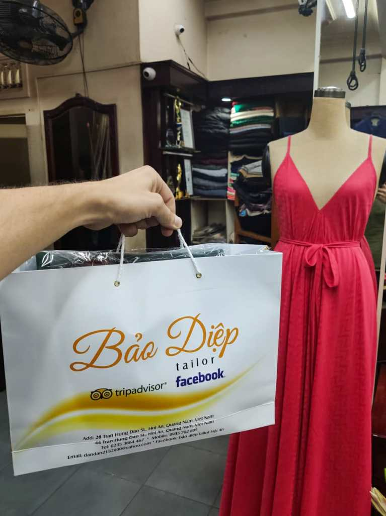 Hoi An Bao Diep Tailor 767x1024 - Hoi An - tu uszyjesz sukienkę!