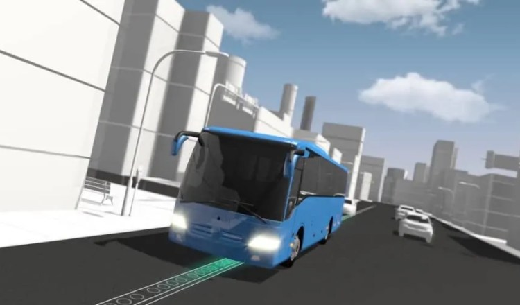 ElectRoad, electric road, electric roads, bus, public transportation, transportation