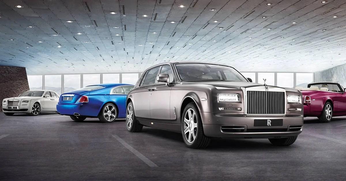 Rolls-Royce kolejną marką, która zrezygnuje z produkcji samochodów spalinowych