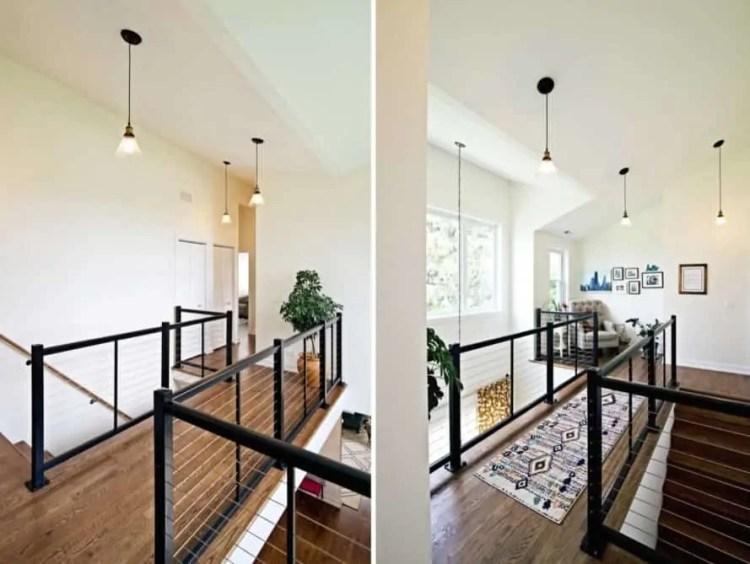 second floor catwalk
